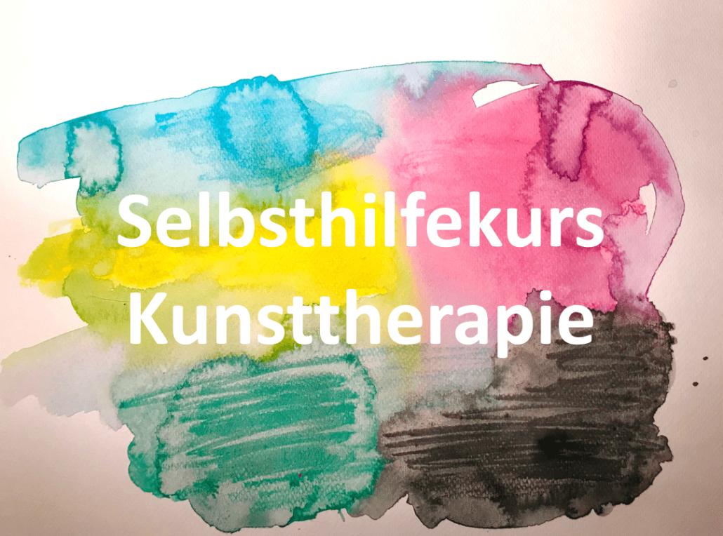 Kunsttherapie Online-Kurs / Maltherapie zur Selbsthilfe